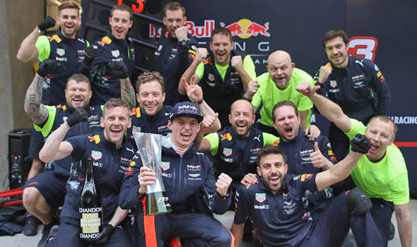 Christian Horner claimed Max Verstappen is one of the best wet-weather drivers in history