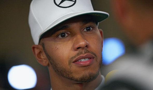 Lewis Hamilton F1 Mercedes driver
