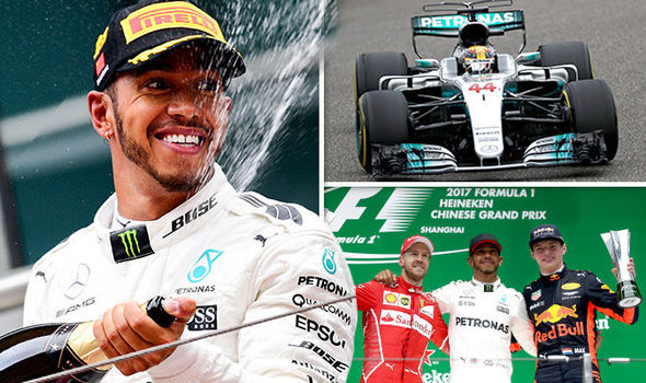 Lewis Hamilton beats Sebastian Vettel at Chinese Grand Prix