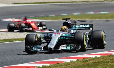 Image result for Lewis Hamilton has won the 2018 Formula 1 Spanish Grand Prix