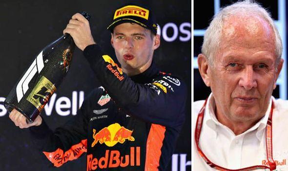 Max Verstappen Red Bull Chief Helmut Marko Reveals Target