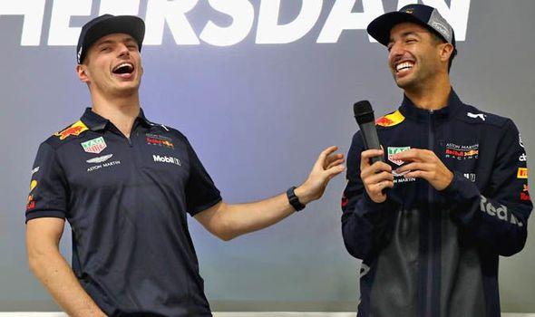 F1 News Max Verstappen Mocks Daniel Ricciardo For Leaving