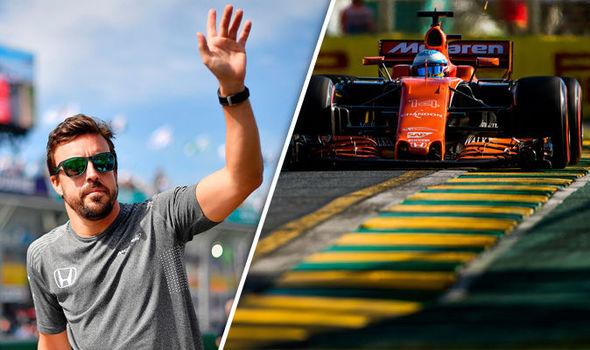 McLaren F1 driver Fernando Alonso