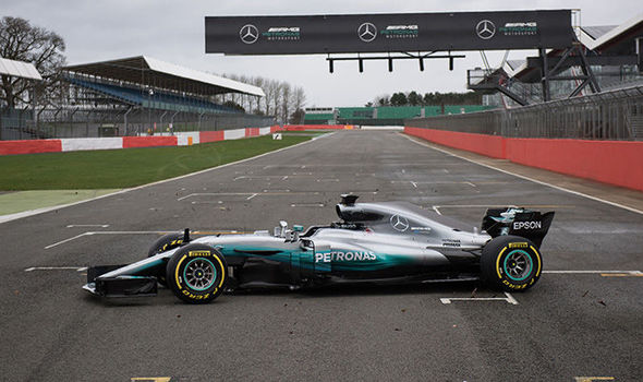 Image result for Mercedes & Ferrari unveil their cars for the 2018 Formula 1 season