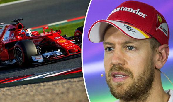 Sebastian Vettel F1 driver for Ferrari