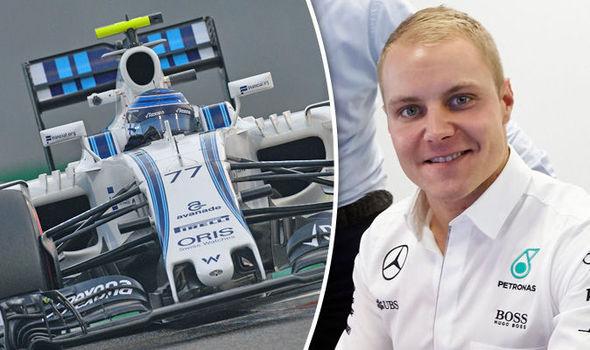 Valtteri Bottas Mercedes F1 driver