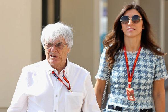 Bernie Ecclestone at F1