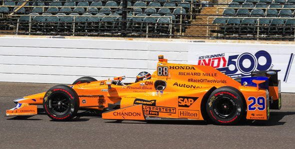 Fernando Alonso will race for Andretti Autosport at Indy 500