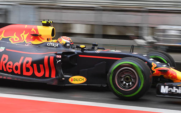 Red Bull car in the Chinese Grand Prix