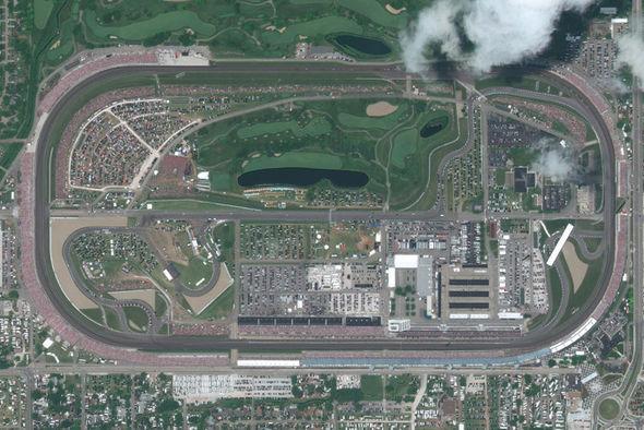 Indy 500 circuit