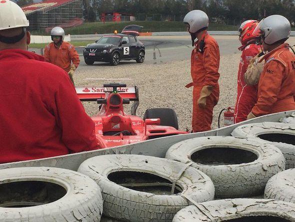 Kimi Raikkonen Ferrari F1 driver