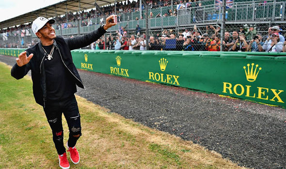 Lewis Hamilton has been on a charm offensive with the Silverstone crowd