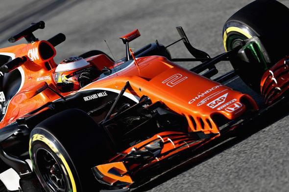 McLaren F1 driver Stoffel Vandoorne