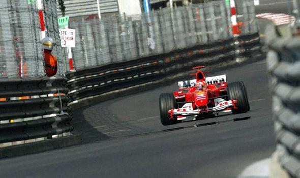 Monaco Grand Prix and F1 legend Michael Schumacher