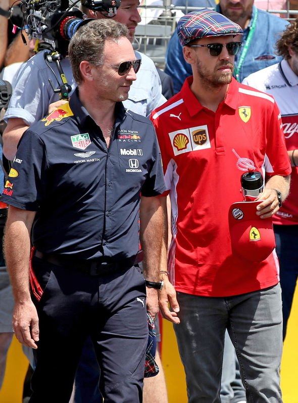 Sebastian Vettel Hints At Replacing Max Verstappen In