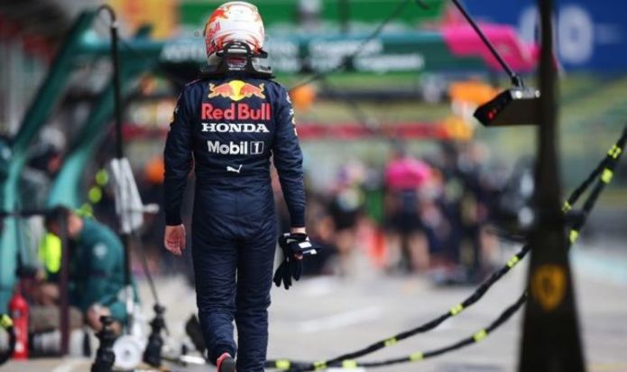 Max Verstappen breaks down and Charles Leclerc crashes as Mercedes dominate practice