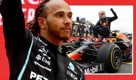 Lewis Hamilton 'very happy' but admits Mercedes worry after Max Verstappen wins French GP
