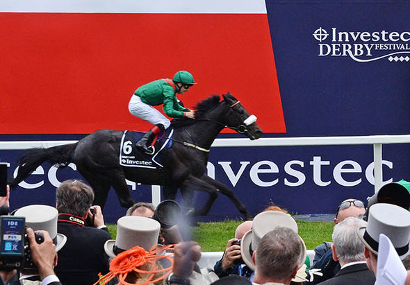 Epsom Derby racing