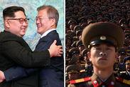 North South Korea joint military talks north korea tensions dismantling kim