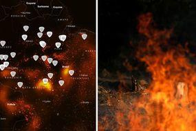 amazon rainforest fire terrifying
