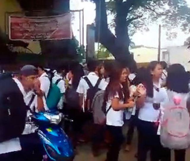 Philippines University Bomb Threat At Bulacan State University In Malolos Causes Terror World News Express Co Uk