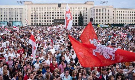 'Man down!'Shocking video shows shootout between Belarus KGB and anti-Lukashenko activist
