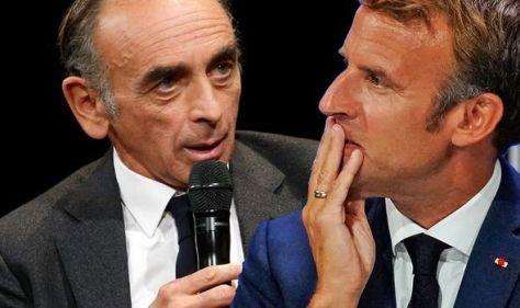 Macron dealt damning blow by far-right TV pundit - Le Pen overtaken in latest poll