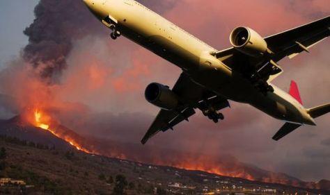 Tenerife volcano warning: La Palma ash threatens flights to Brit hotspot – planes diverted