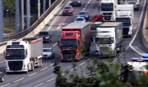 Germany 'urgently needs lorry drivers' – penny drops as EU realises crisis NOT over Brexit
