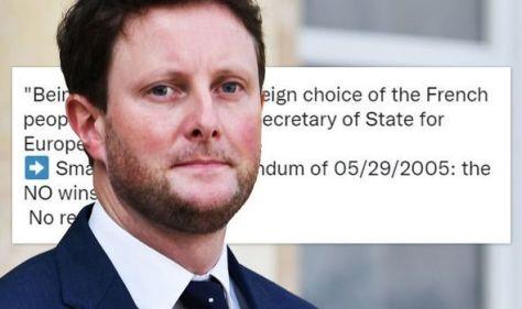 Frexiteer brilliantly silences Macron closest aide's 'sovereign EU' claim in THREE words