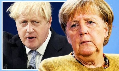 Show us your true colours, Boris! Merkel ally orders Johnson revoke to Brexit 'red lines'