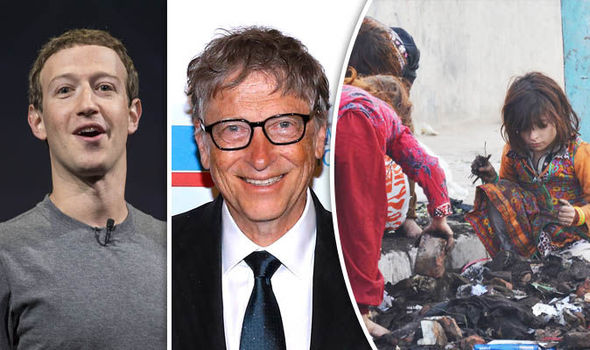 Image result for World's Eight Richest People Have Same Wealth as Poorest 50%