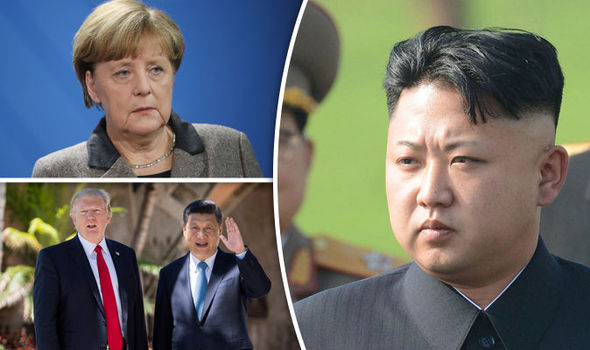 Angela Merkel has offered her view on the North Korean tensions
