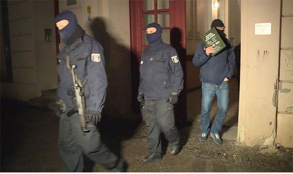 Police raid Berlin Mosque
