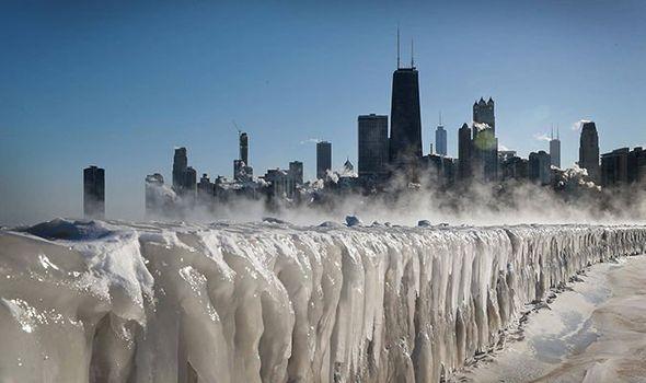 Chicago Weather Rare Weather Phenomena Diamond Dust