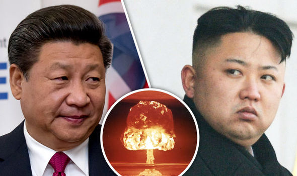 China is urging North Korea & the US to avoid resorting to military force to quell tensions