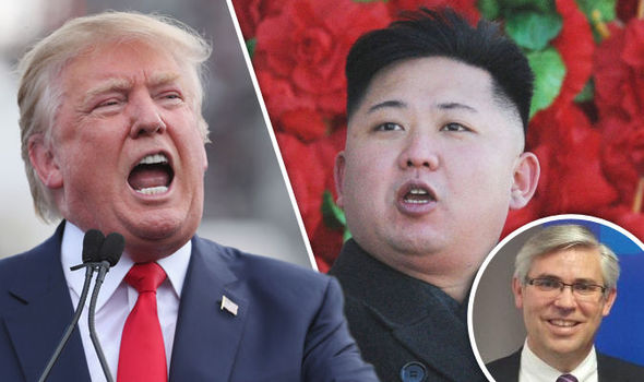 Donald Trump's temperament could change the US's relations with North Korea, Mr Flake suggested