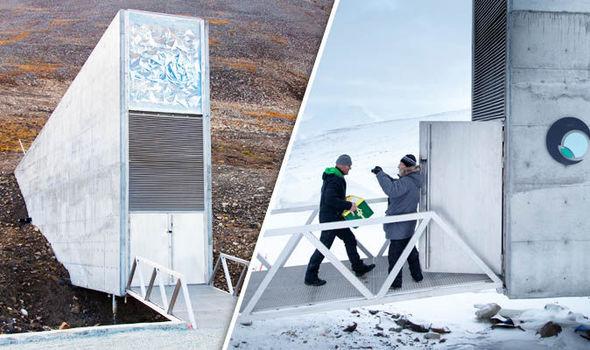 The Doomsday vault in Norway