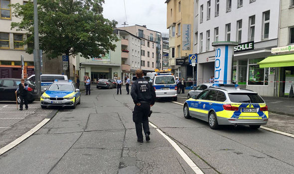 Dusseldorf stabbing: At least one hurt by attacker