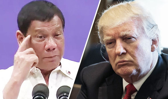 Rodrigo Duterte and Donald Trump