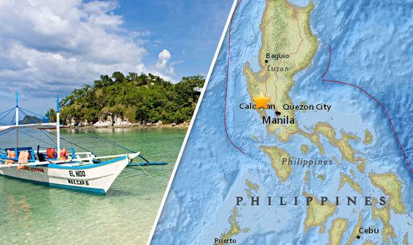 Earthquake Manilla Philippines