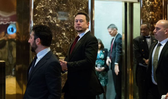 Elon Musk at Trump Tower