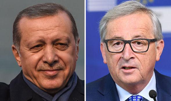 Erdogan and Juncker