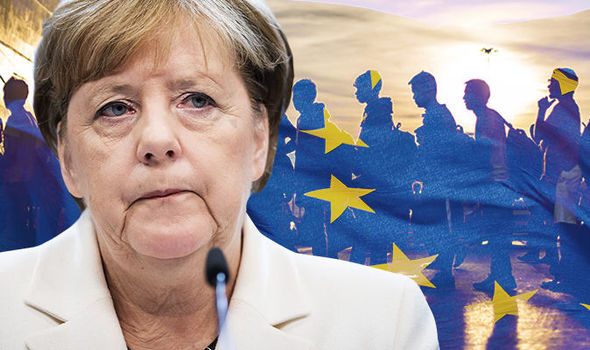 Eu news migration crisis Angela merkel