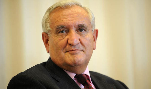 Former French prime minister Jean-Pierre Raffarin