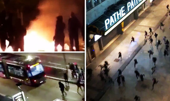 France riots: Last night saw violent crashes in both Paris and Lyon