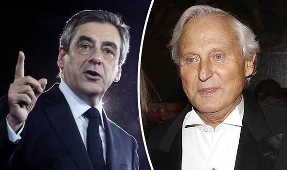 Francois Fillon and Francis Holder