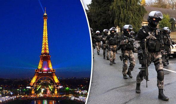 French terror alert