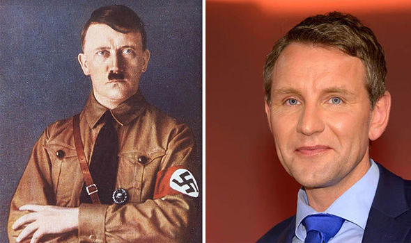 Björn Höcke said Germany has been made to look Björn Höcke over Hilter's rule