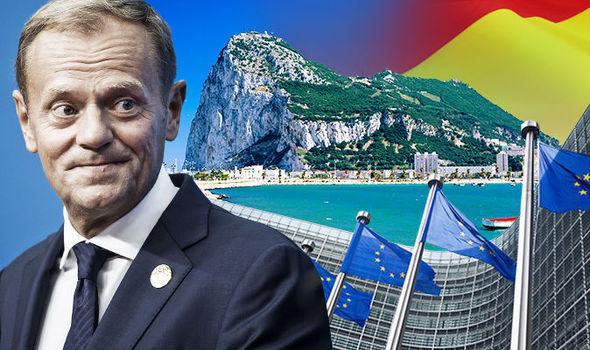 Donald Tusk and Gibraltar